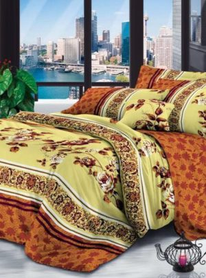 Queen Bedding Flower Rose Set