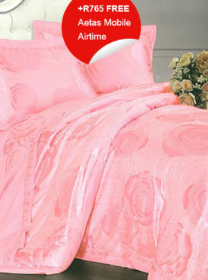 Queen Bedding Pink Set