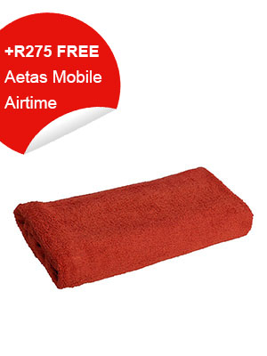Bathroom Towel (red)