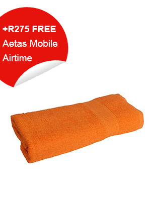Bath Towel (Orange)
