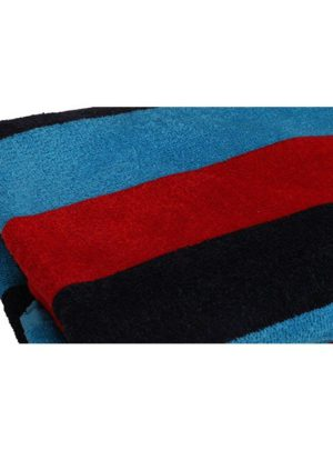Bath Towel (Blue & Red)