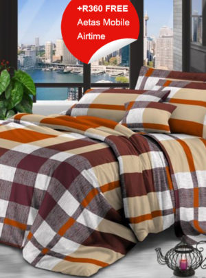 Queen Bedding Multicolour Set