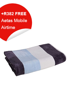 Bath Towel (Blue Striped)
