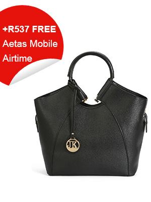 Appealing Black Tote Bag