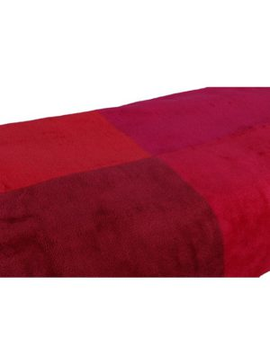 Bath Towel (pink & maroon)