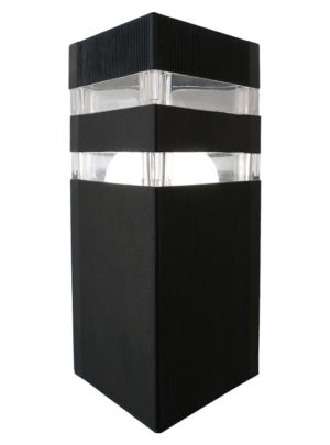 Square Outdoor Light (Black)